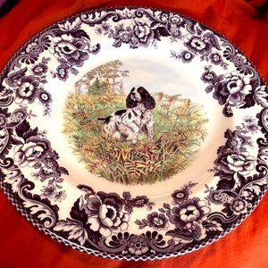 Spode English Springer Spaniel plate